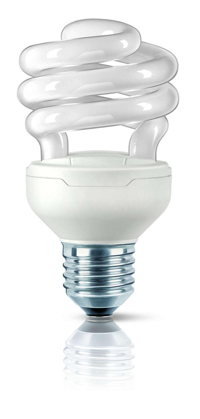 De kleinste spaarlamp