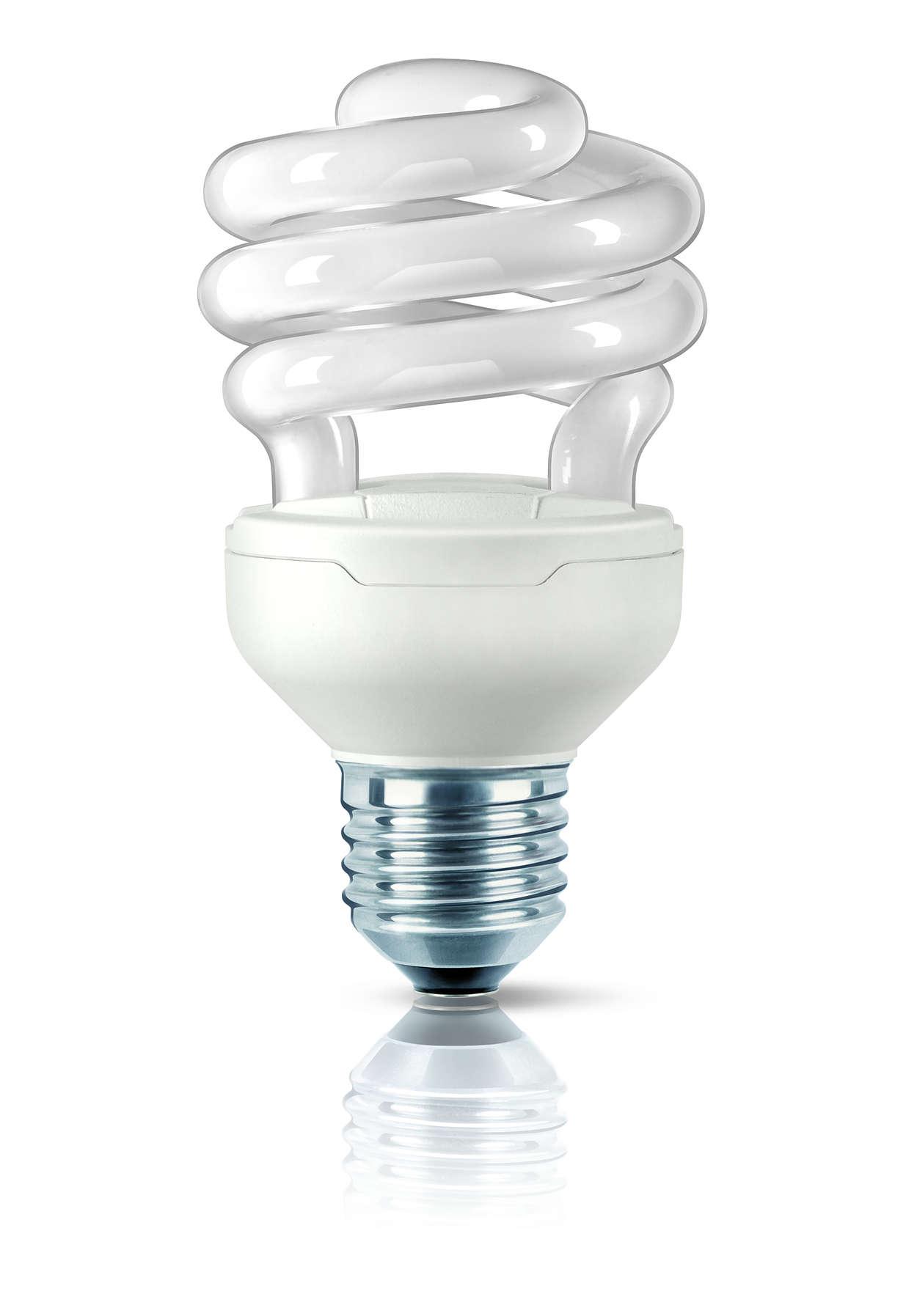 Самая компактная энергосберегающая лампа