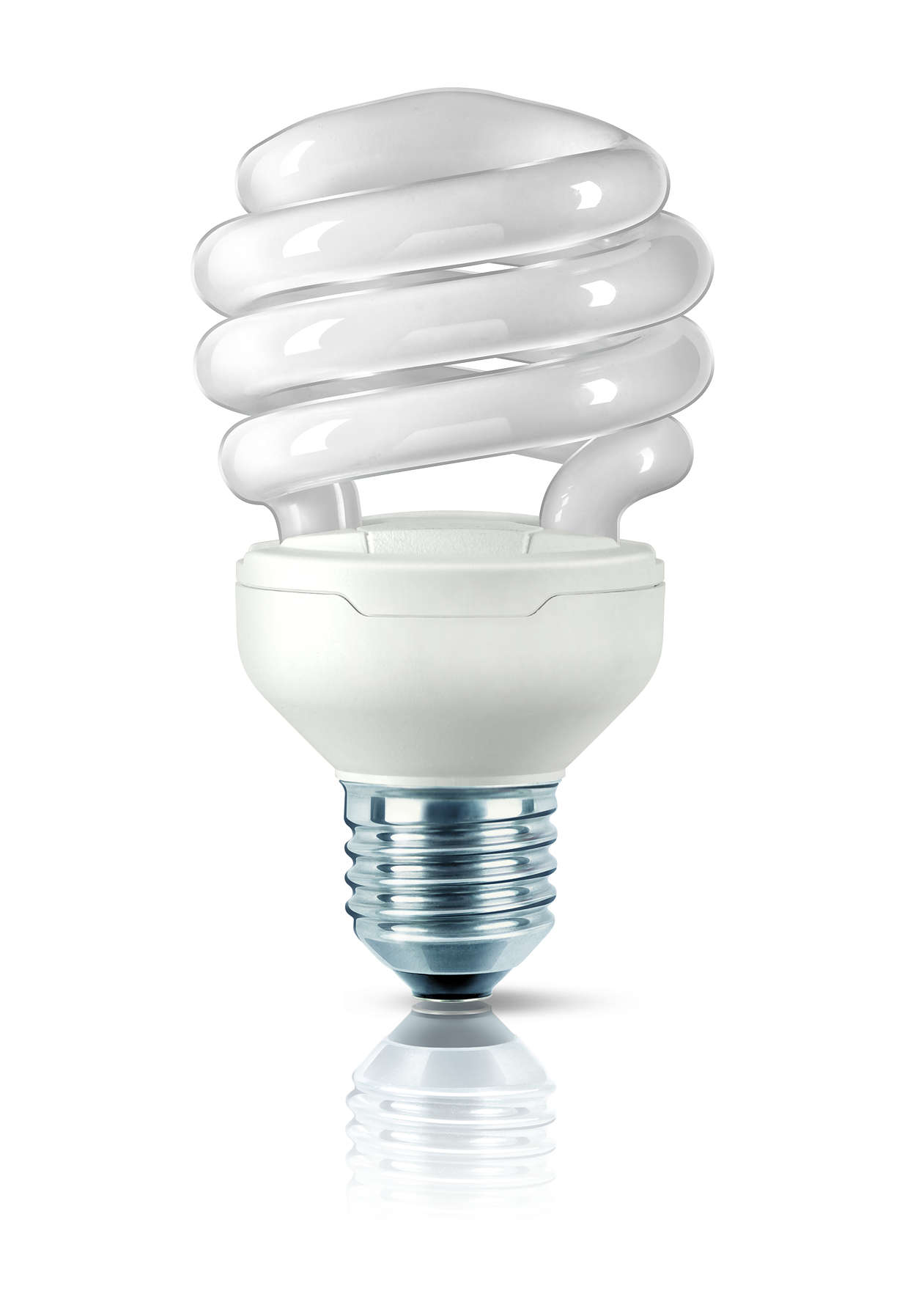 A lâmpada economizadora mais pequena