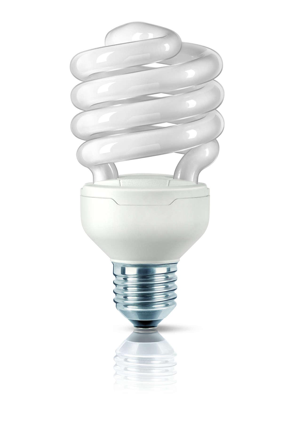 Най-малката енергоспестяваща лампа