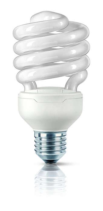 Η μικρότερη λάμπα εξοικονόμησης ενέργειας