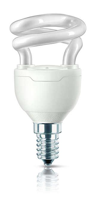 Pienin energiansäästölamppu
