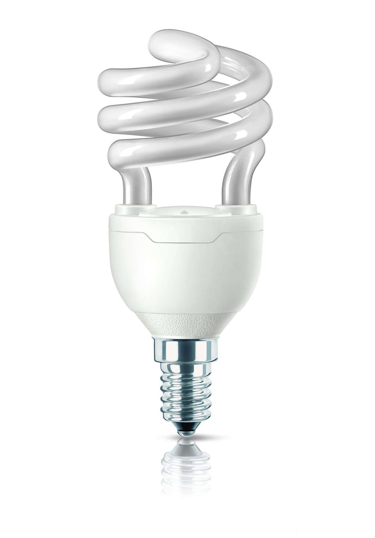 La plus petite ampoule à économie d'énergie