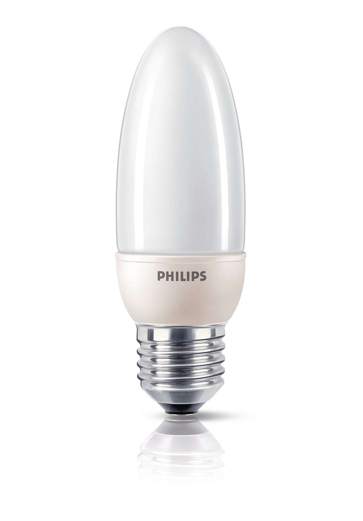 Po prostu światło — energooszczędna świetlówka w kształcie świecy