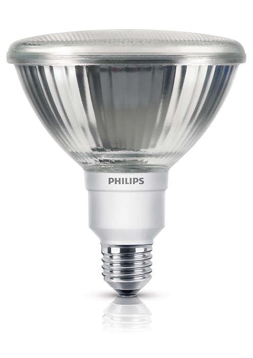 Energiesparlampe in Reflektorform