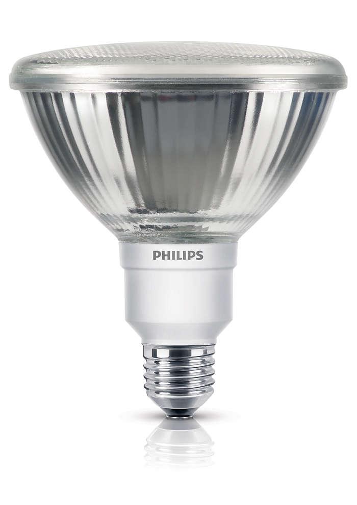 Energiebesparende technologie in een gerichte lamp