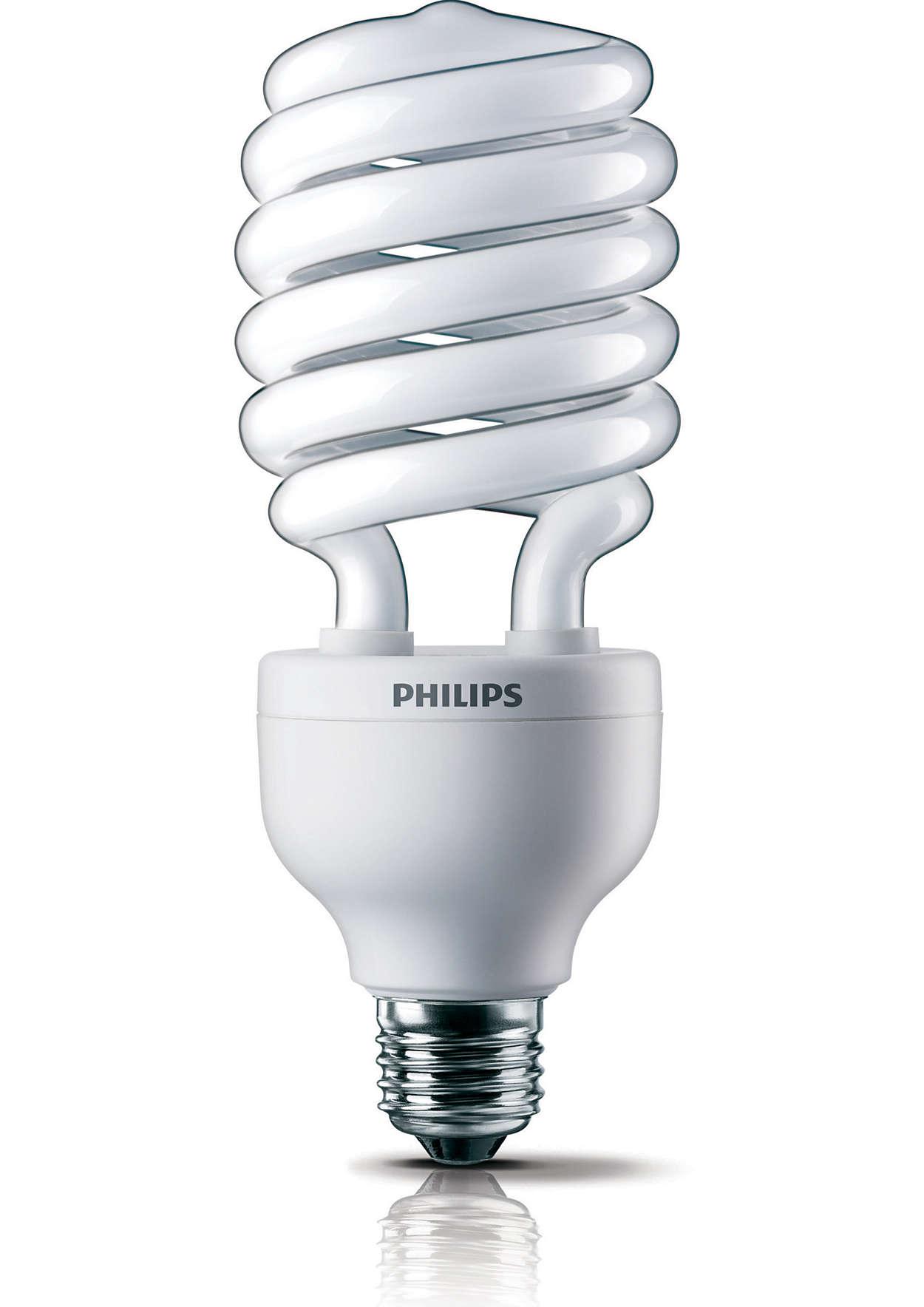 L mpara espiral de bajo consumo 8710163216768 philips - Focos de bajo consumo para exterior ...