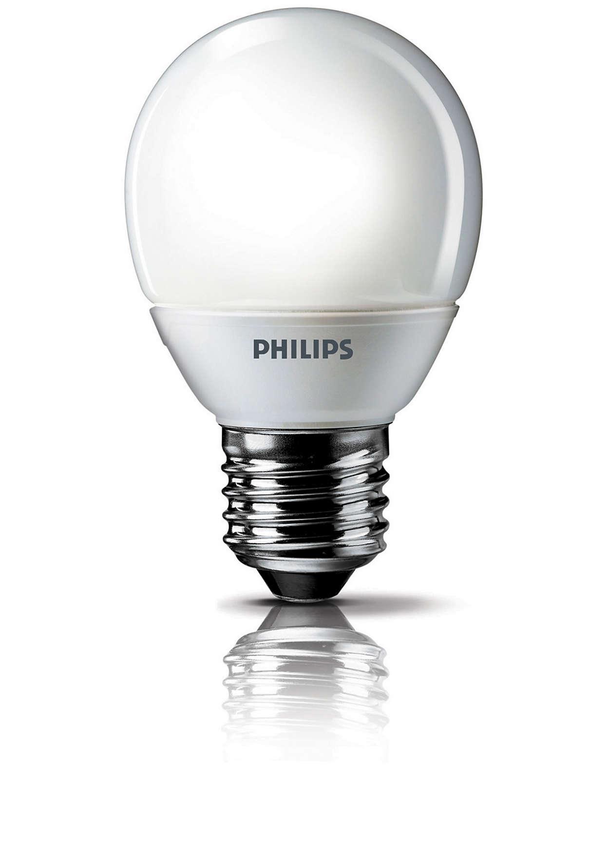 클래식한 디자인의 에너지 절약형 전구