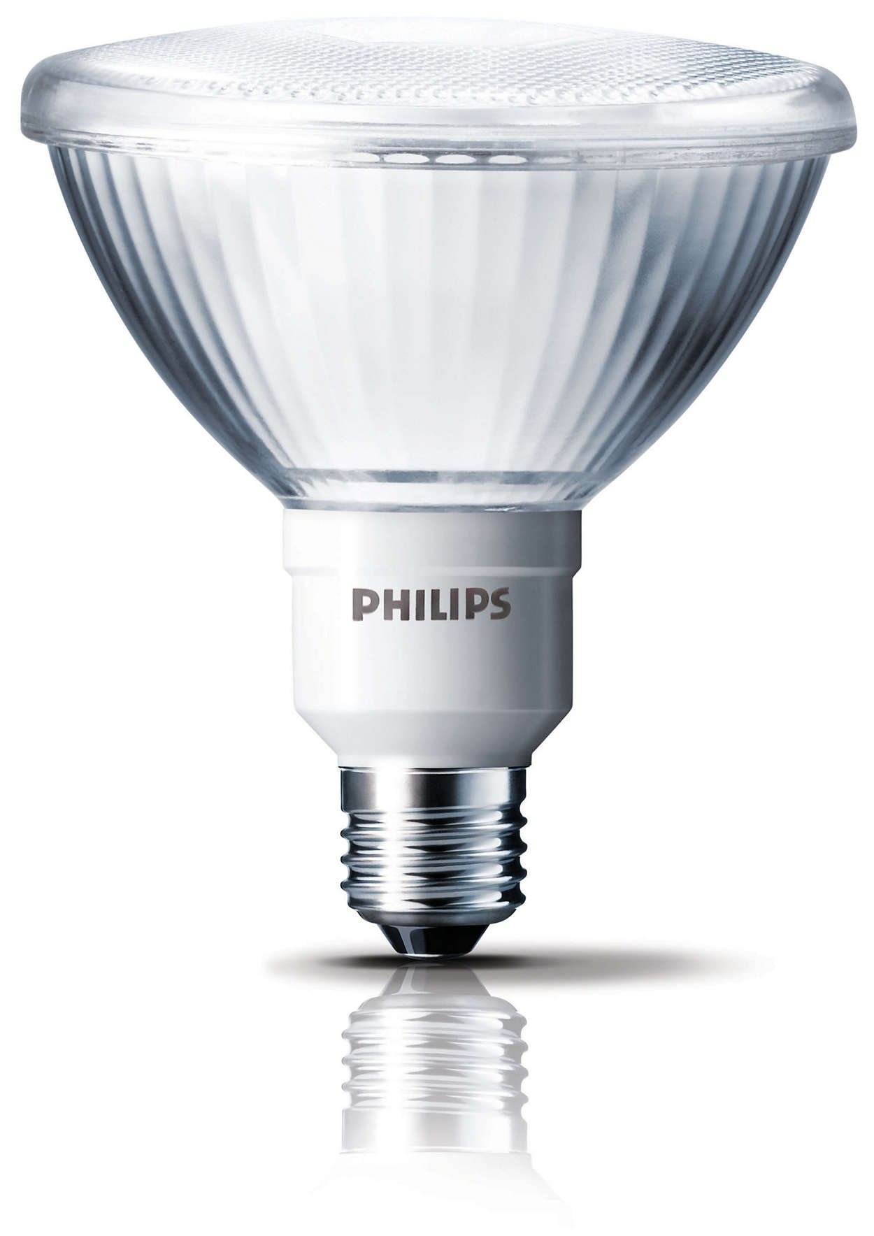 Energy-saving reflector with a focused light beam