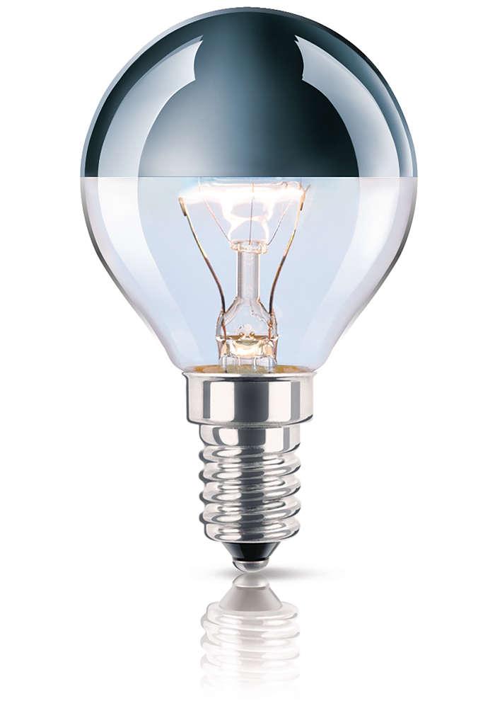 Bombilla diseñada para una iluminación indirecta espectacular
