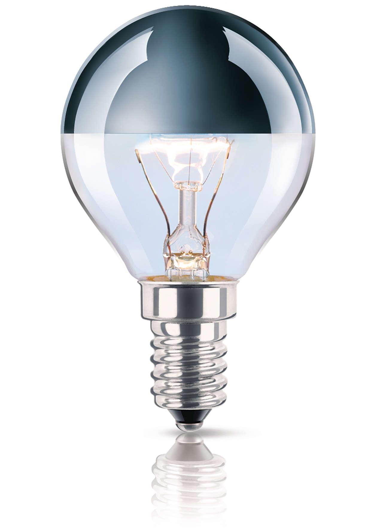 Lâmpada especial de luz indirecta