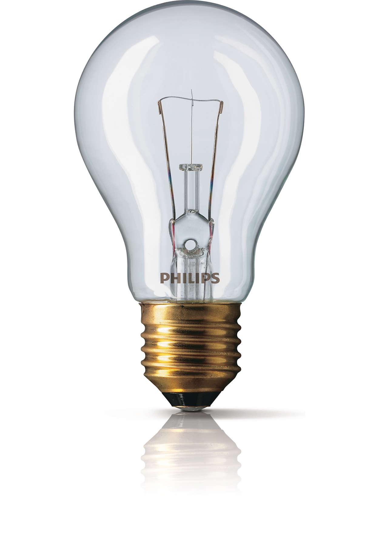 Skinnende klart lys lige der, hvor du har brug for det