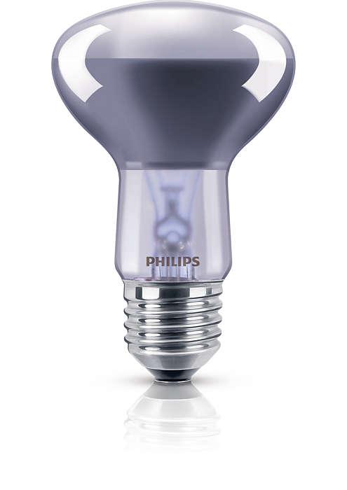 Reflektorlampe mit Neodymglas