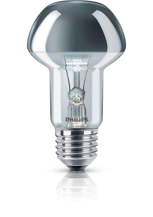 Lamp ontworpen voor spectaculair indirect licht