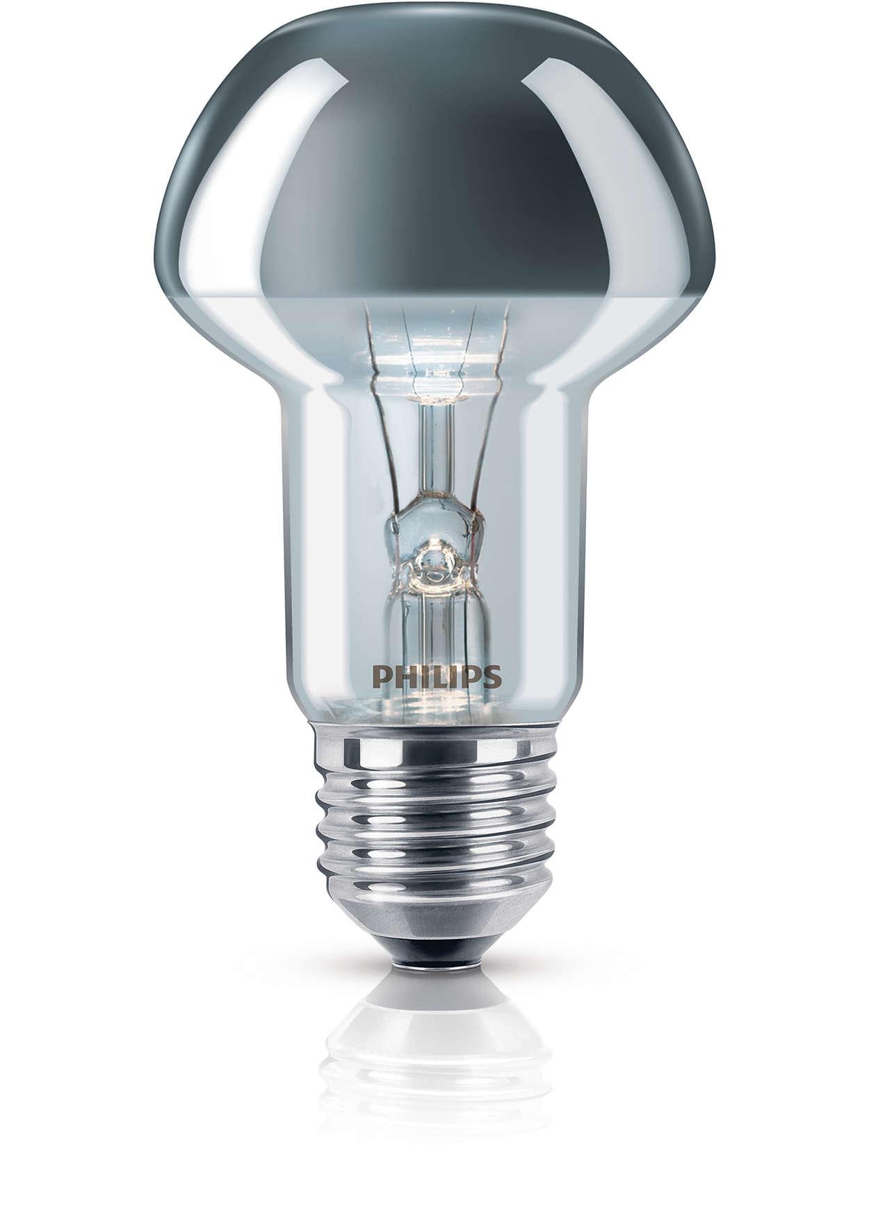 incandescent reflector lamp gloeilamp reflector 8711500054326 philips. Black Bedroom Furniture Sets. Home Design Ideas