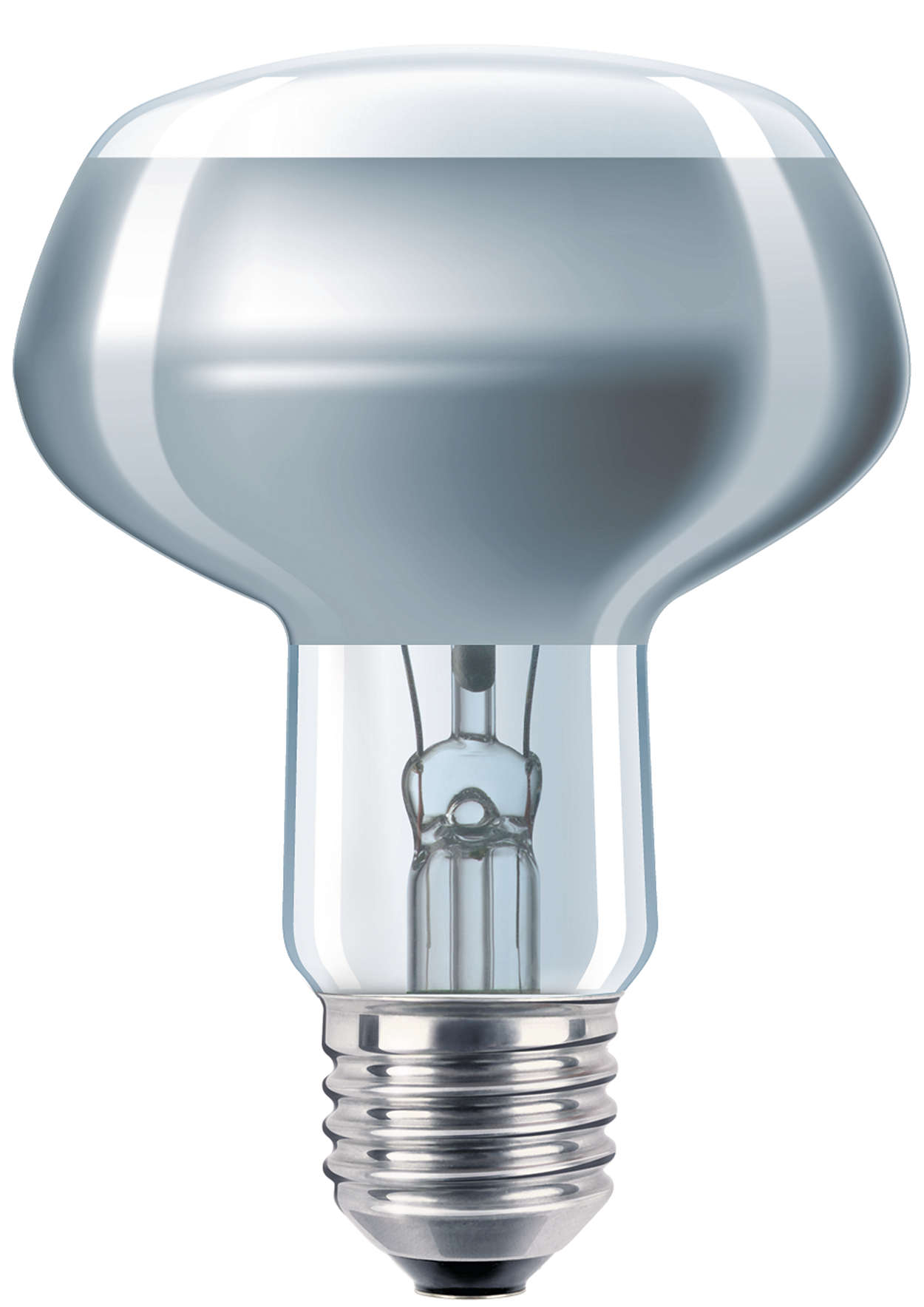 Цветная лампа-рефлектор из прессованного стекла