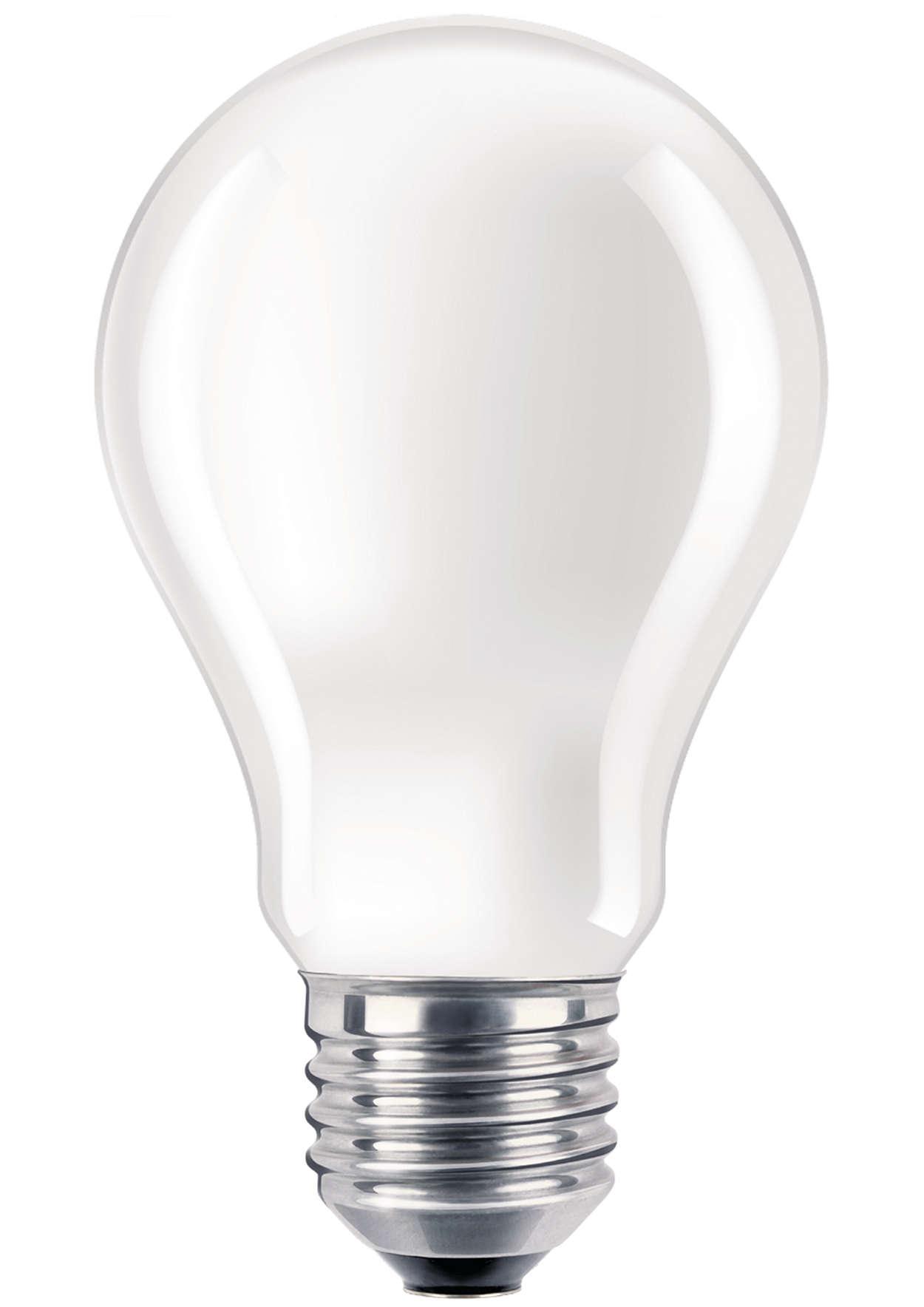 Forstærket GLS-lampe til krævende anvendelsesformål