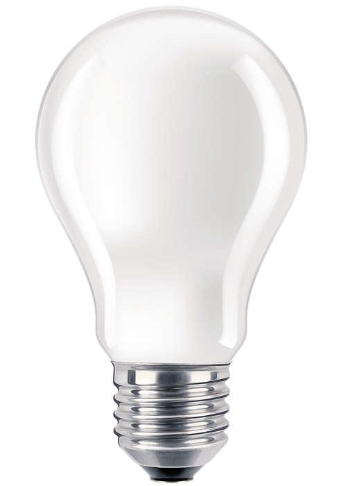 Vahvistettu hehkulamppu vaativiin käyttötarkoituksiin