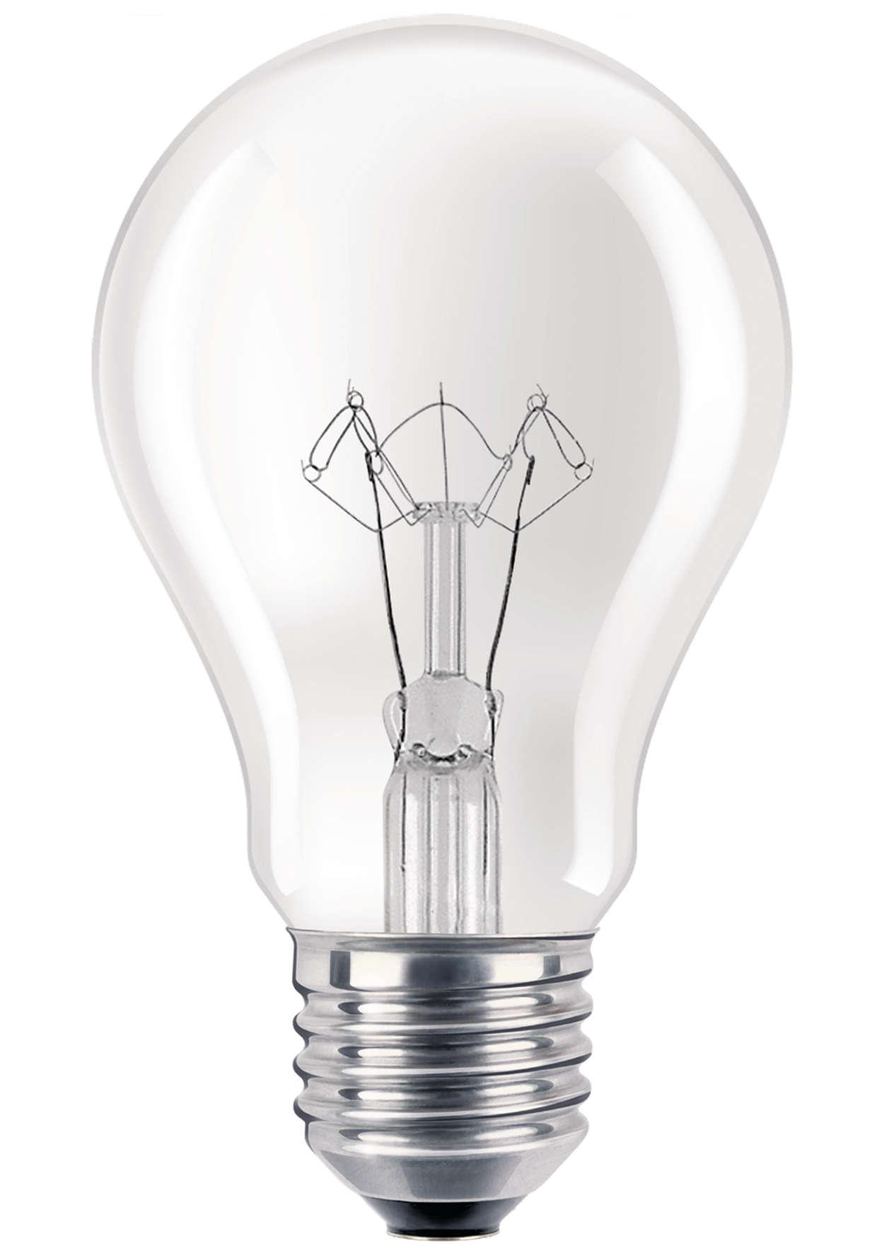 Lâmpada incandescente reforçada para aplicações de uso intensivo