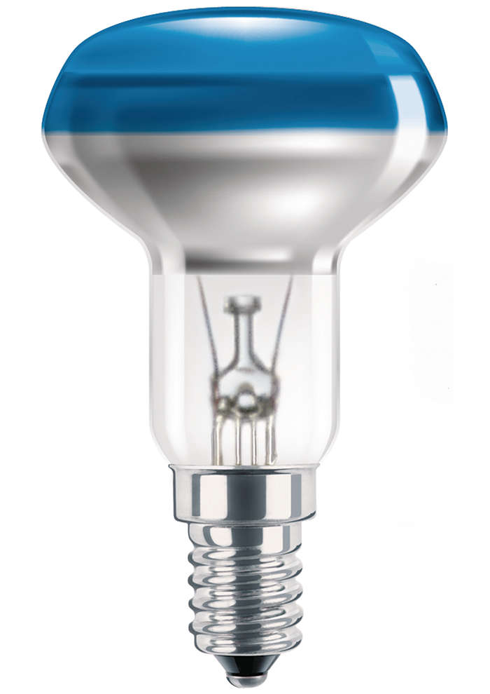 Färgade glödlampor med överlägsen beläggning