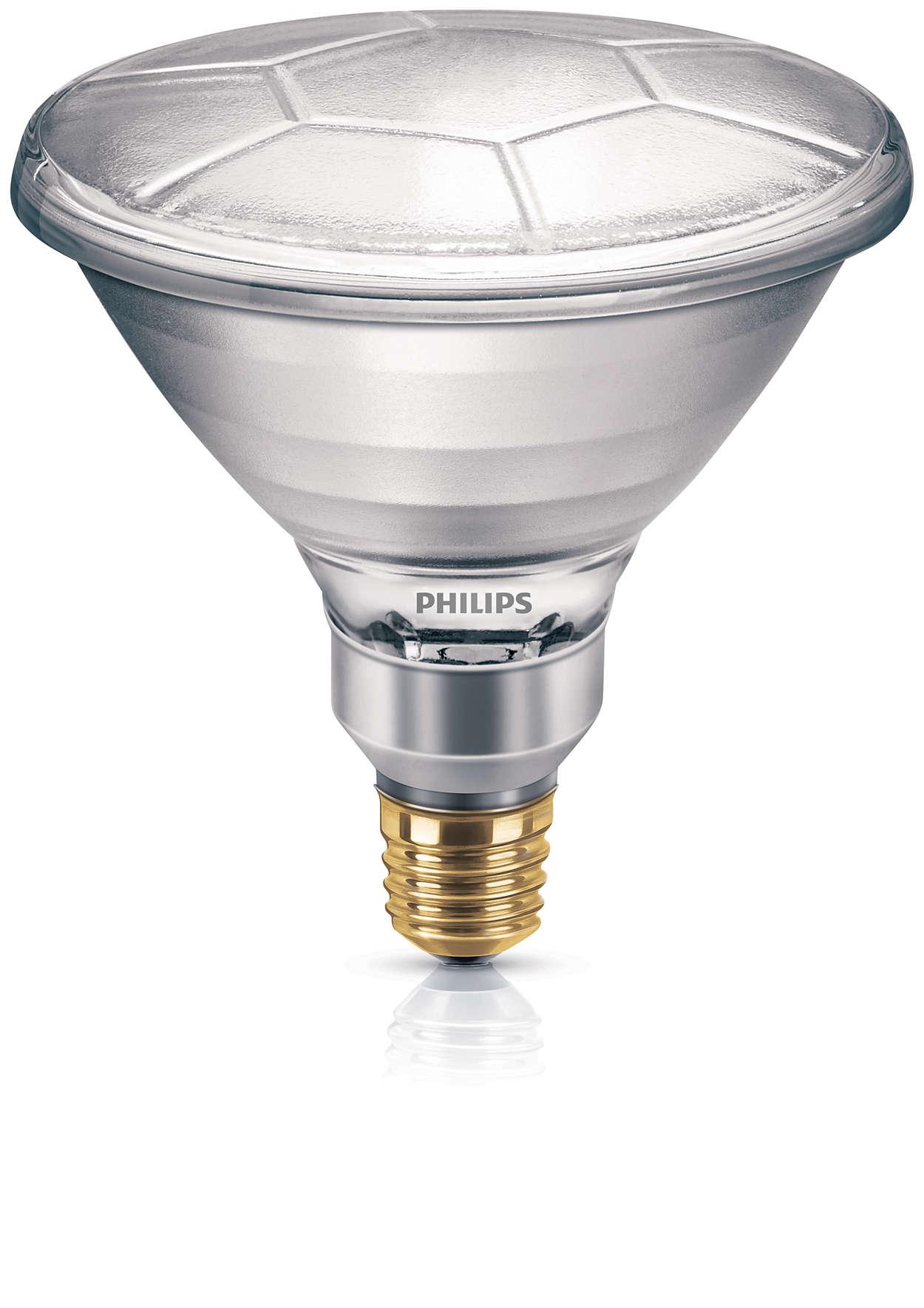Reflektorlampe mit hoher Intensität