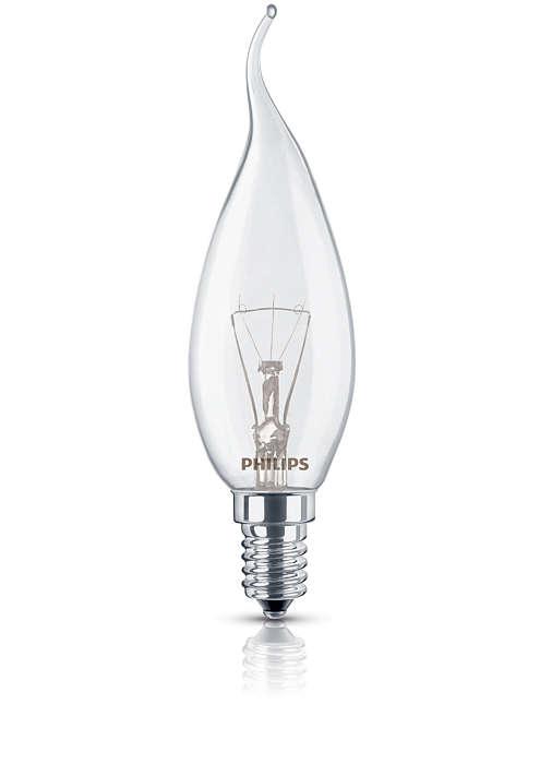 Koselig, dekorativ belysning