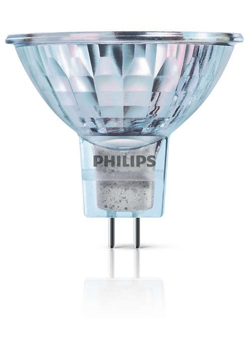 Lâmpada de halogéneo convencional
