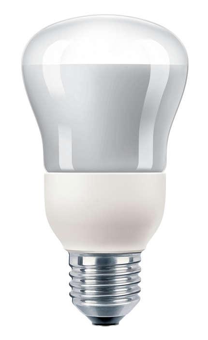 Energiesparen mit einem Reflektor
