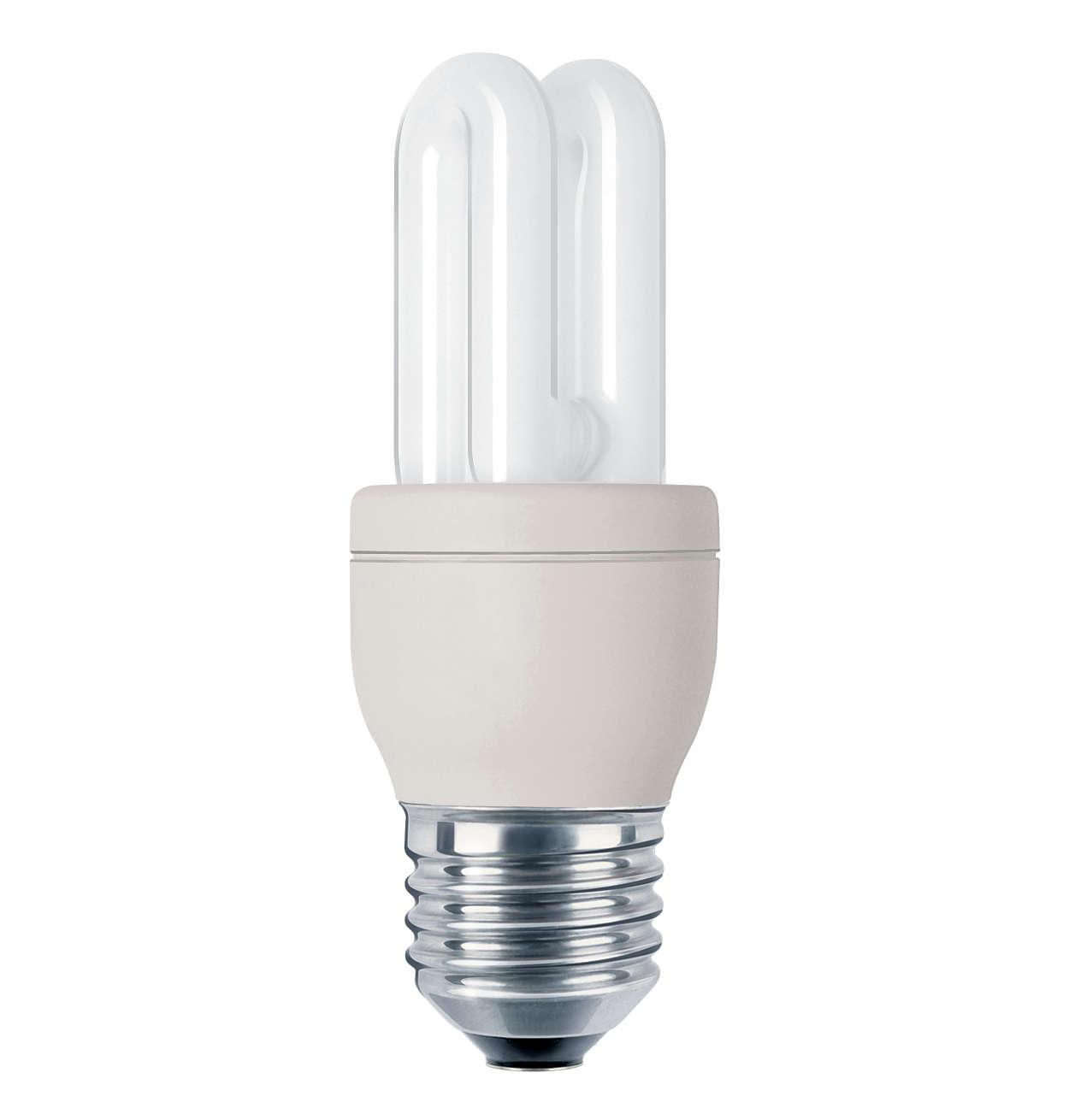Liten, kraftfull, vacker belysning