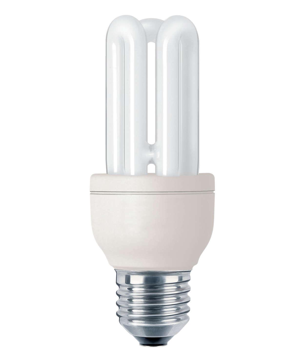 Pieni, tehokas ja kaunis lamppu