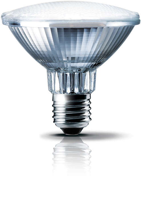 Incrível iluminação de destaque