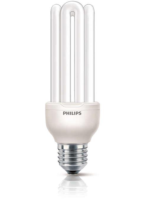 Kompakte Energiesparlampe für den professionellen Einsatz