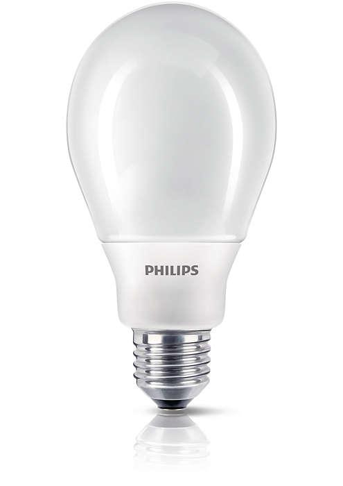 Bare lys og design, energibesparende lys