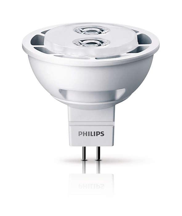 Надежный дизайн и яркий световой луч для акцентного освещения