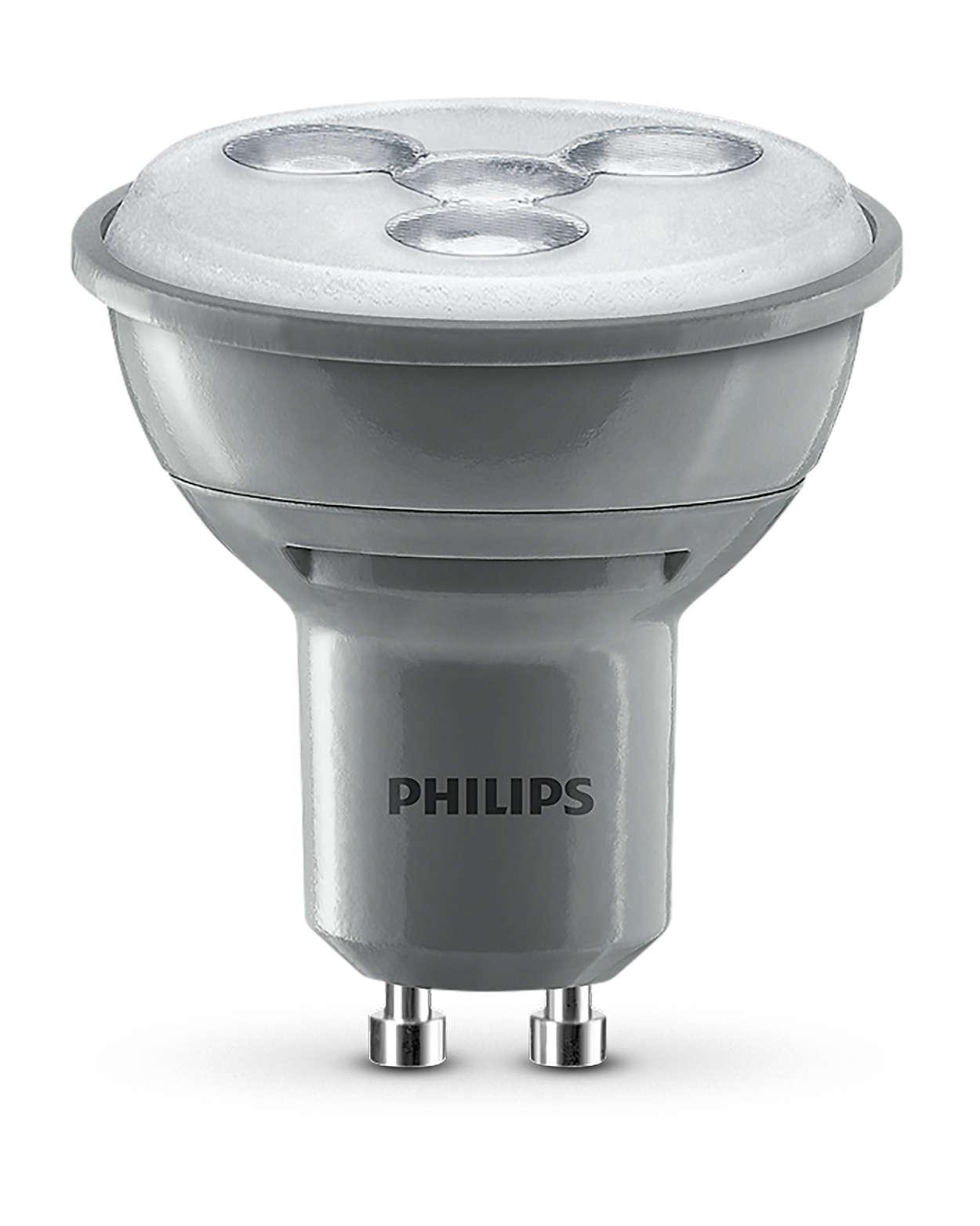 Szabályozható spotlámpás világítás irányított fénysugárral