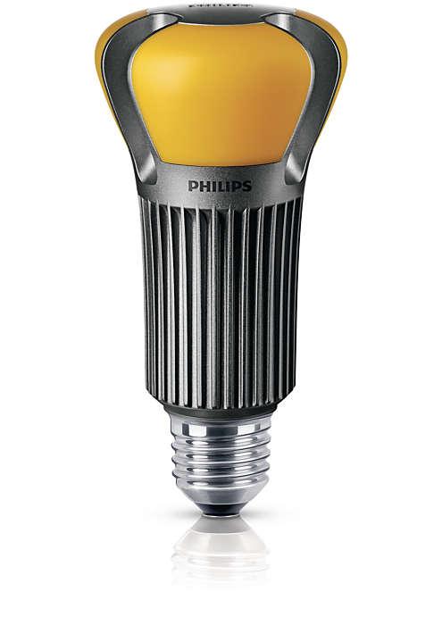 Uma lâmpada única