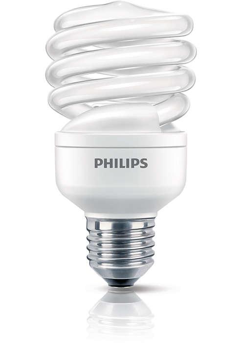 Lågenergilampa i en kompakt design