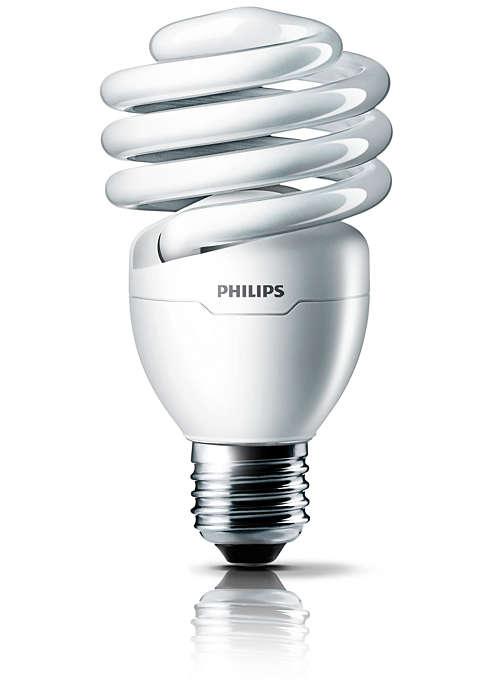 Luz brillante para disfrutar de colores más nítidos