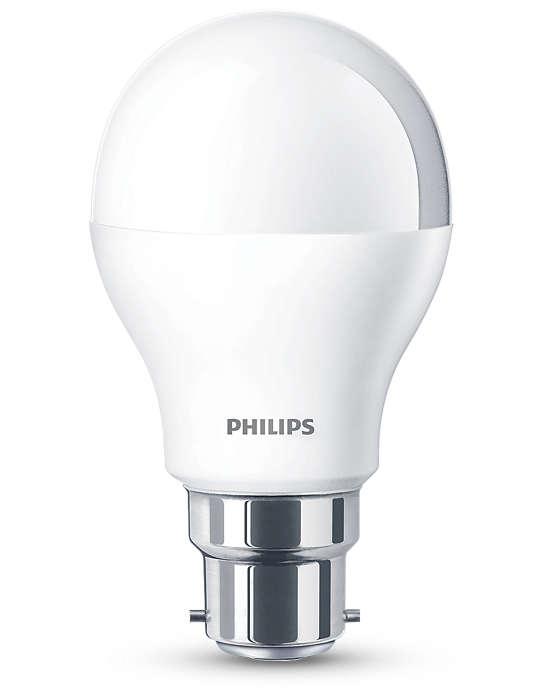 Luz branca suave, sem comprometer a qualidade da luz