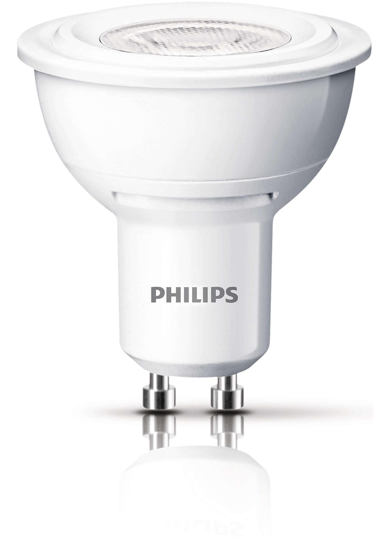 Holdbar indirekte belysning med en fokuseret klar lysstråle