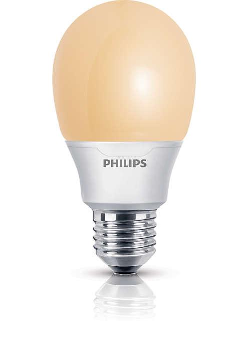 Experimente uma luz mais suave