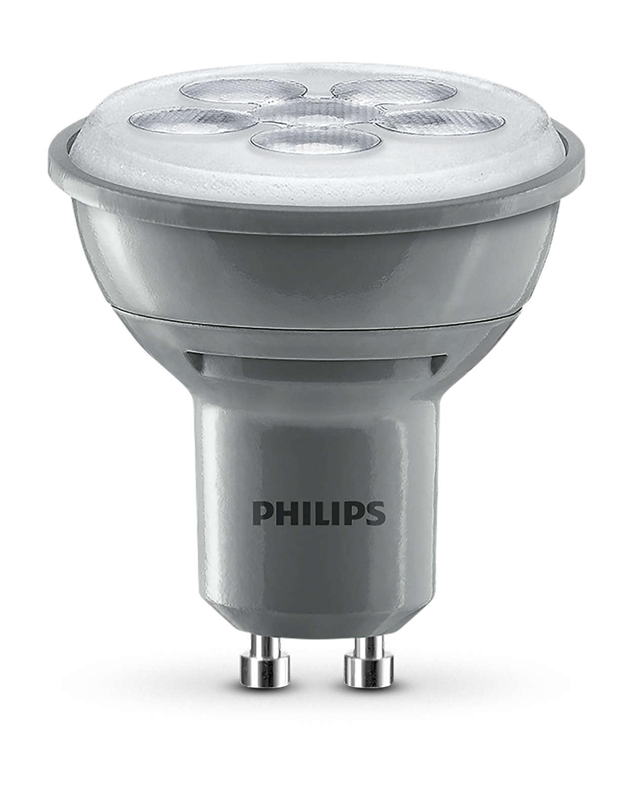 Éclairage de mise en valeur durable avec faisceau lumineux fin