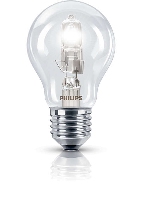 Žiarivé halogénové svetlo, známy tvar