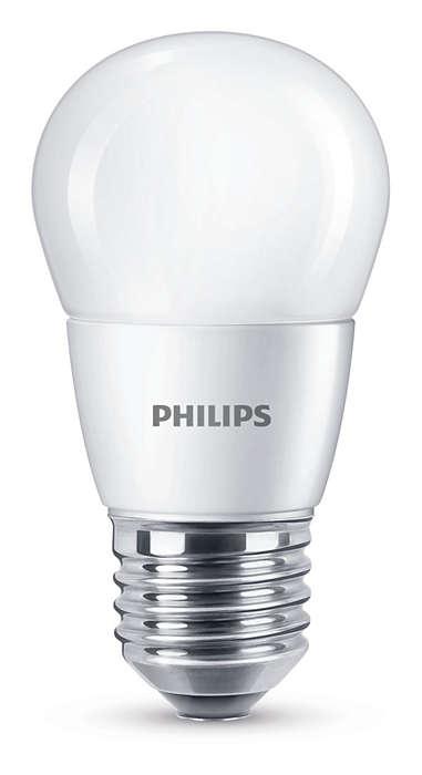 Lämmin valo tinkimättä valon laadusta