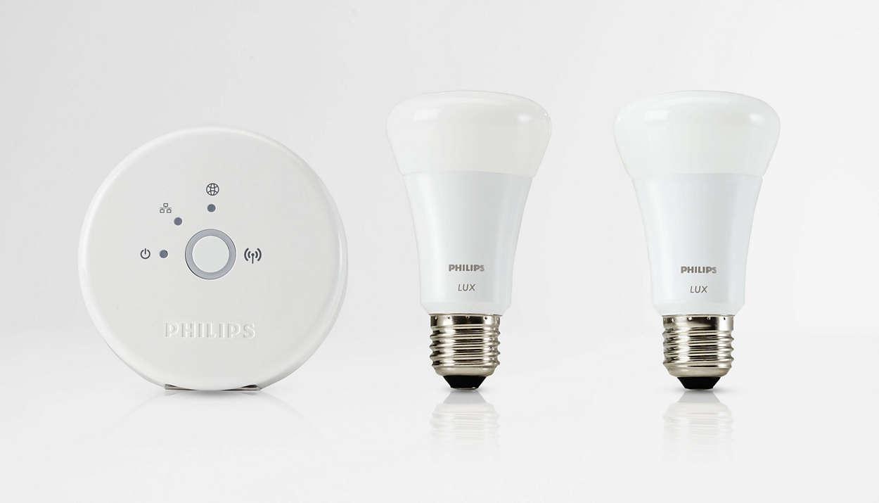 Controle as suas luzes a partir de qualquer local