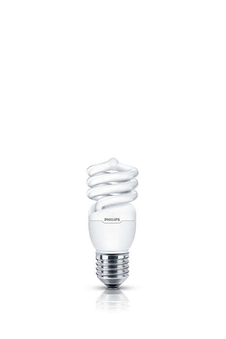 Luz suave y agradable en una lámpara de bajo consumo