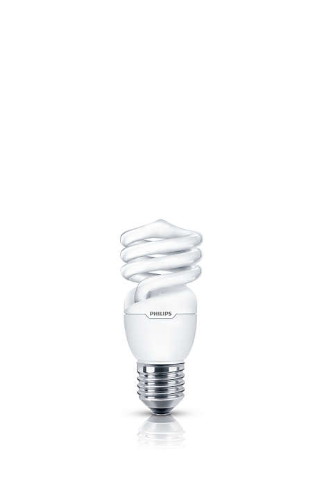 Luz suave y agradable en un foco de bajo consumo