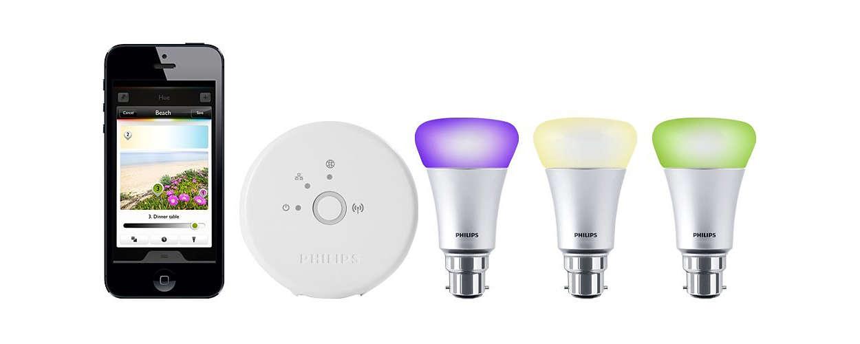 personal wireless lighting 8718696440414 philips. Black Bedroom Furniture Sets. Home Design Ideas