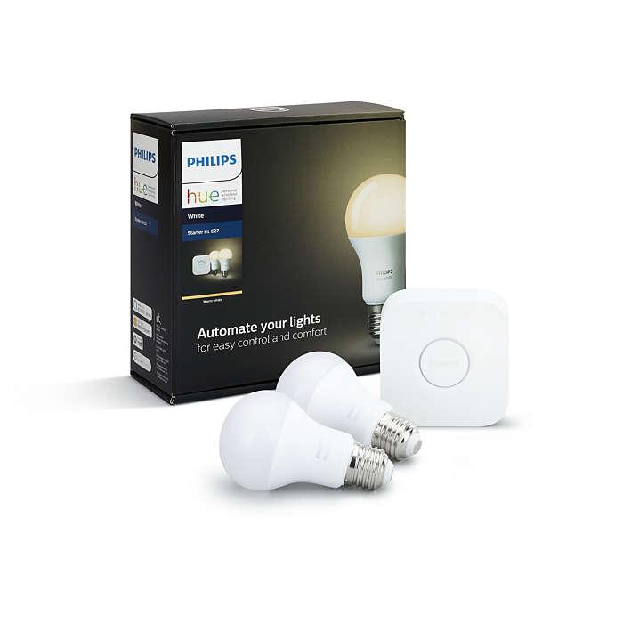 Hue White Starter kit E27 8718696449592 | Philips