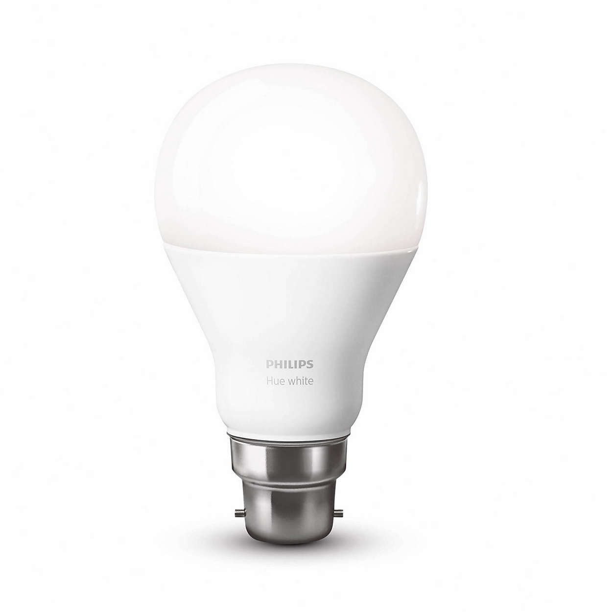 hue white single bulb b22 8718696449691 philips. Black Bedroom Furniture Sets. Home Design Ideas